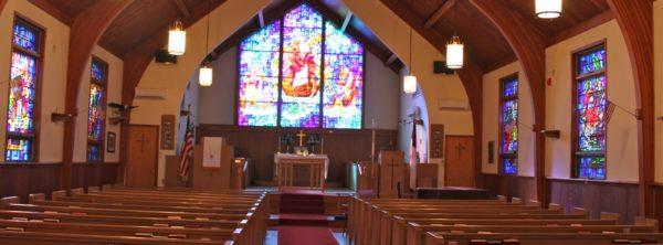 Sea Isle City Methodist Church sanctuary