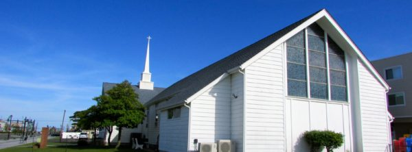 Sea Isle City Methodist Church outside front of church