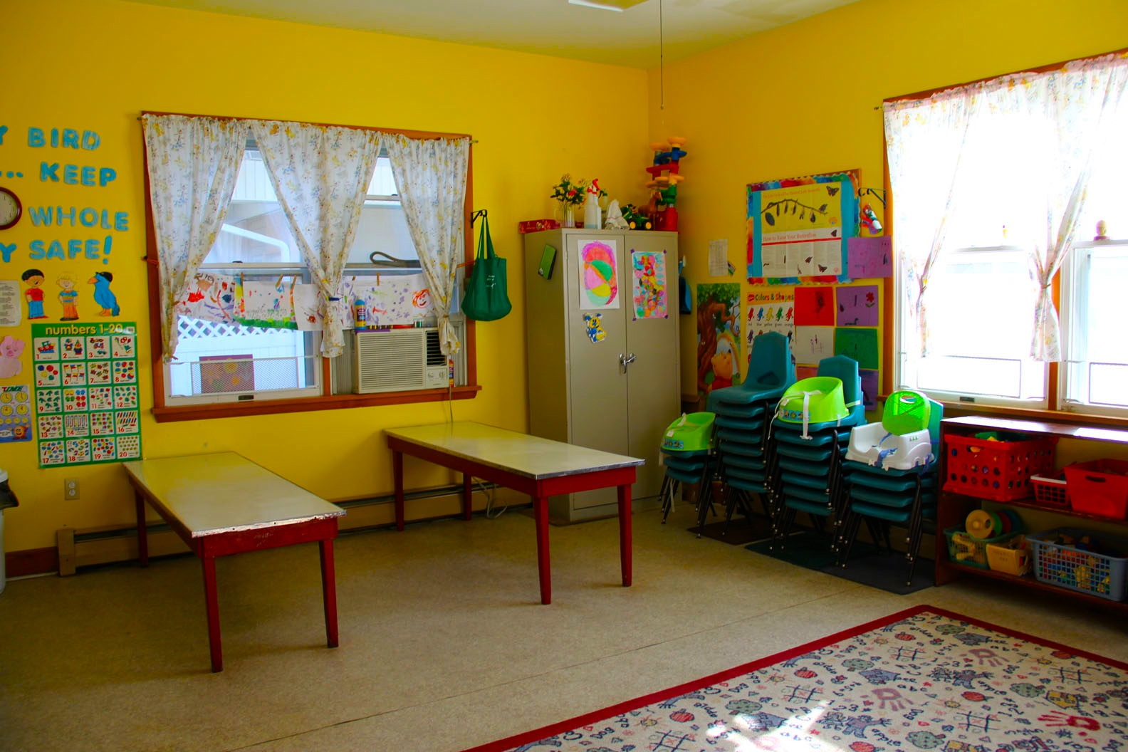 Sea Isle City Methodist Church childcare room