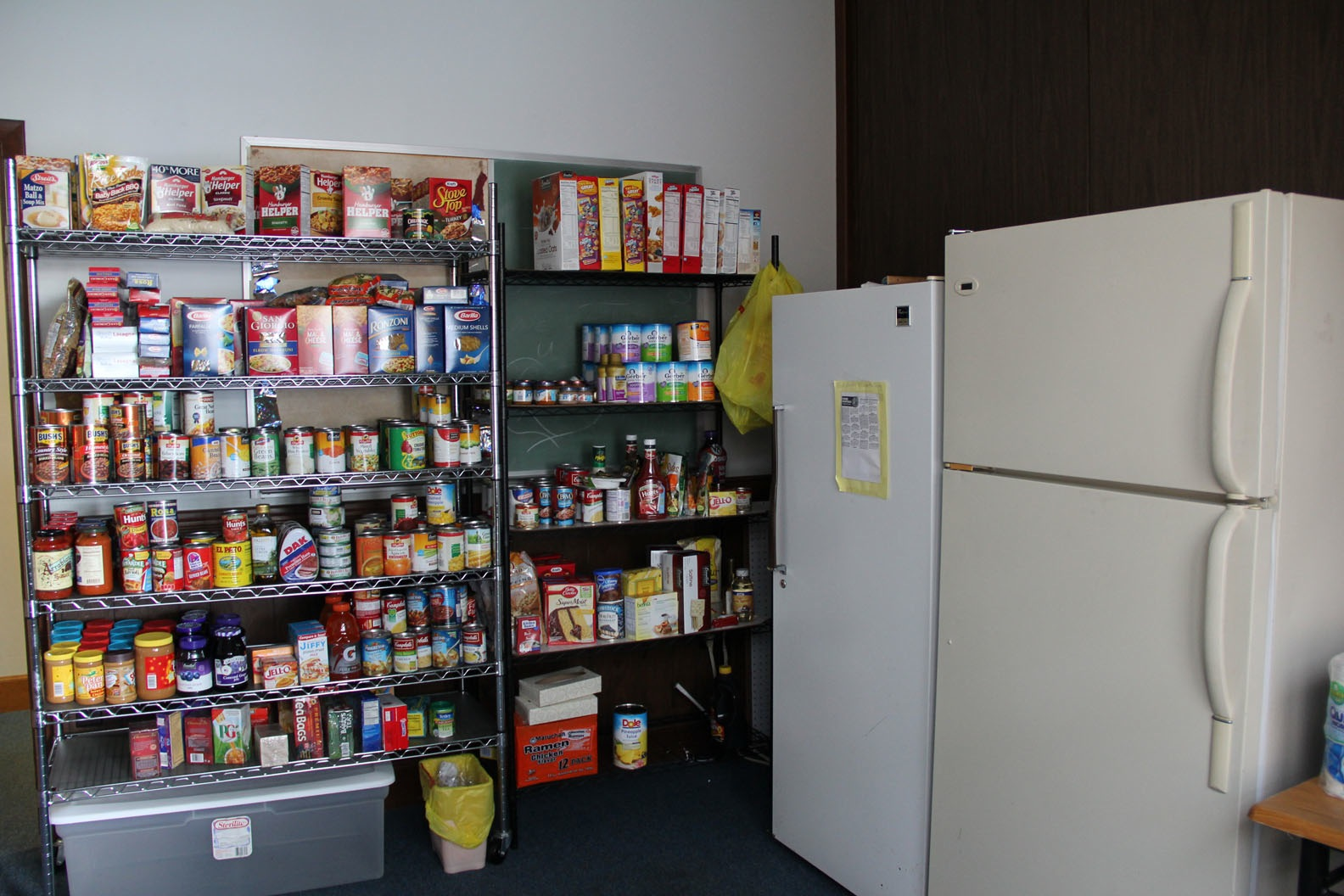 Suggestions for Food Cupboard